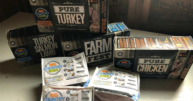 Big Country Raw Cat Food Varieties